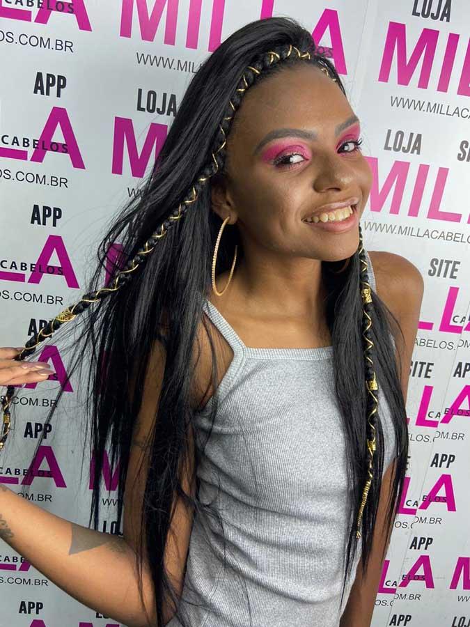 Cabelo Bio Vegetal - Sleek Brazilian Virgin Hair- Whitney