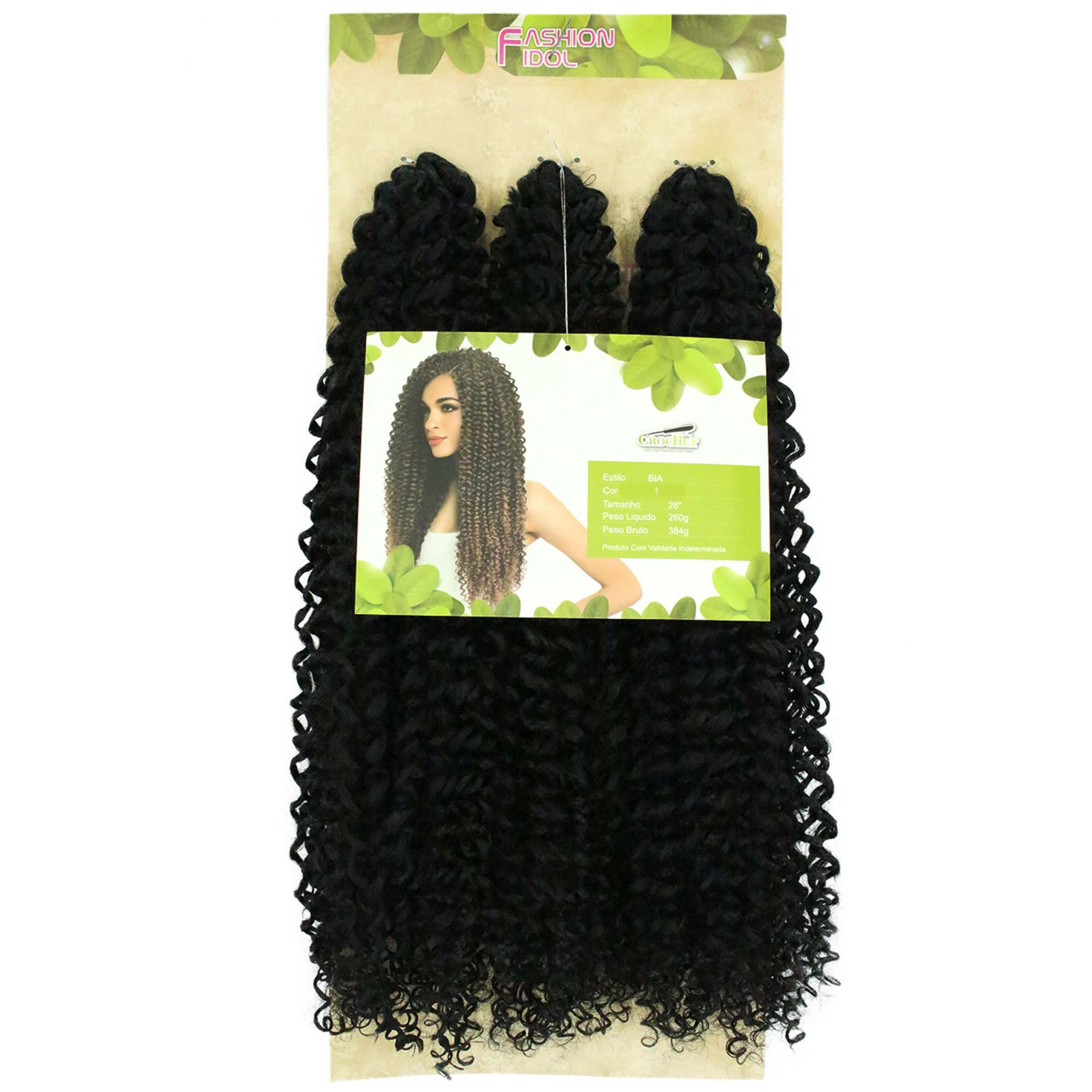 Cabelo Orgânico - Sleek Fashion Idol True Me Crochet Braid - Bia