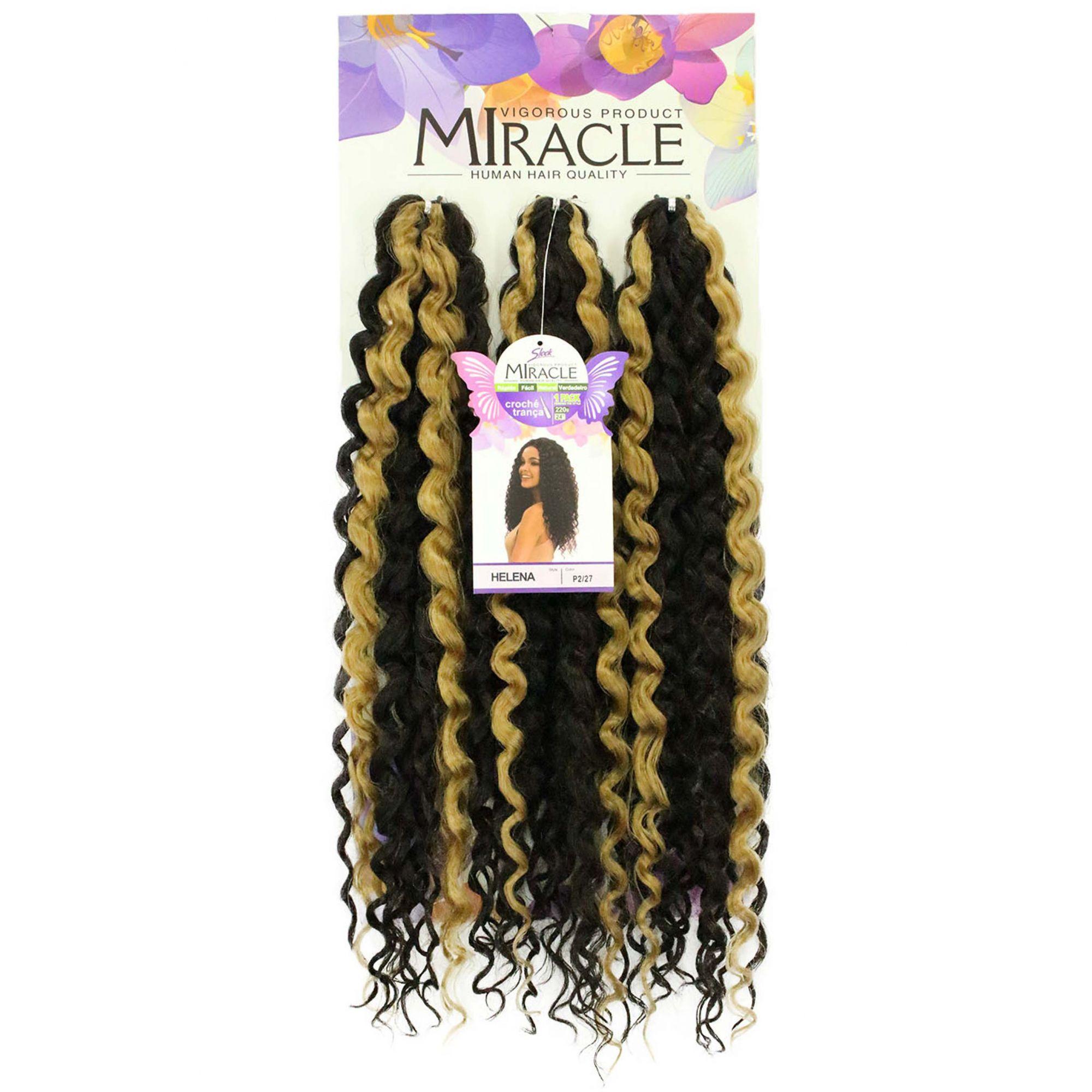 Cabelo Orgânico - Sleek Miracle Crochet Braid - Helena