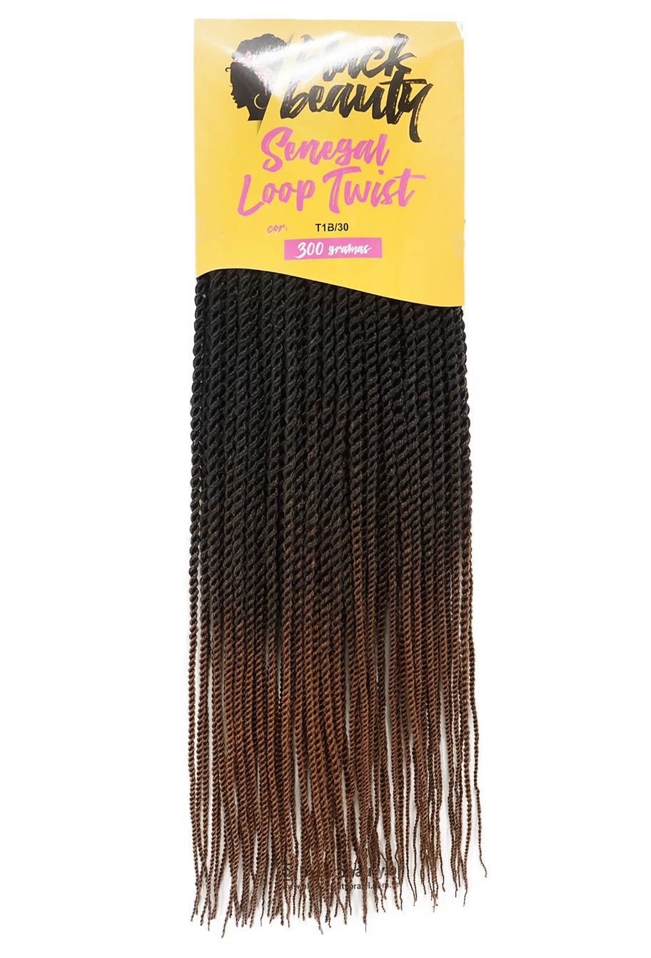 Cabelo Sintético - Black Beauty - Senegal Loop Twist