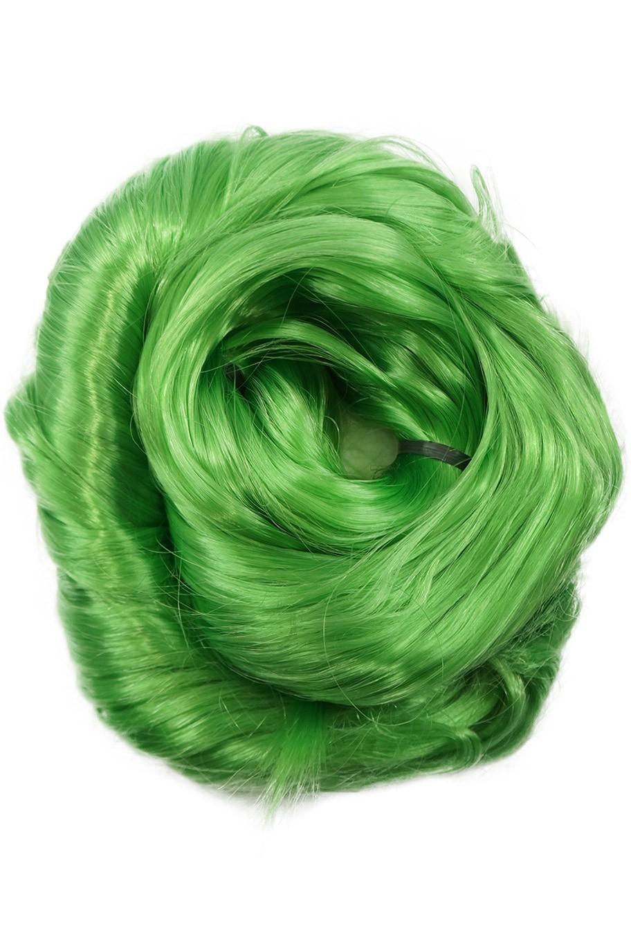Cabelo Sintético - Fio de Fibra Nacional - Cor: Verde