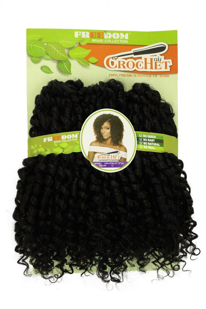 Cabelo sintético Freedom - Crochet Vitality