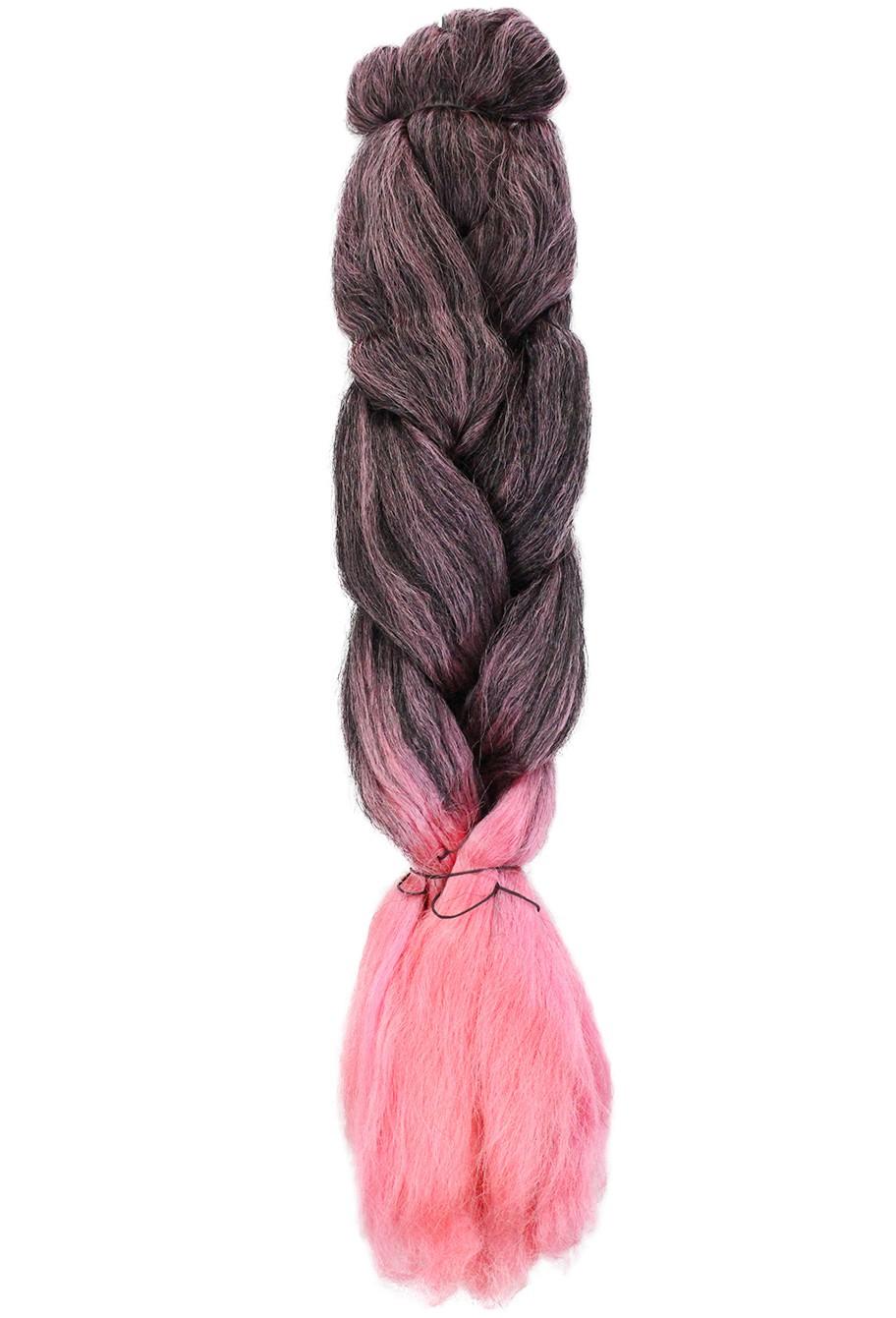 Cabelo Sintético - Ser Mulher - Jumbo (399g) - Cor: Preto com Rosa (T1B/Pink)