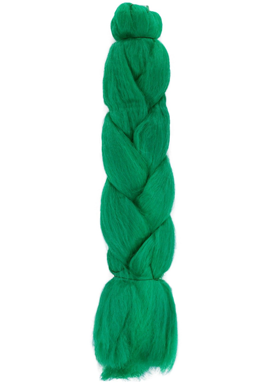 Cabelo Sintético - Ser Mulher - Jumbo (399g) - Cor: Verde Escuro (Dark Green)