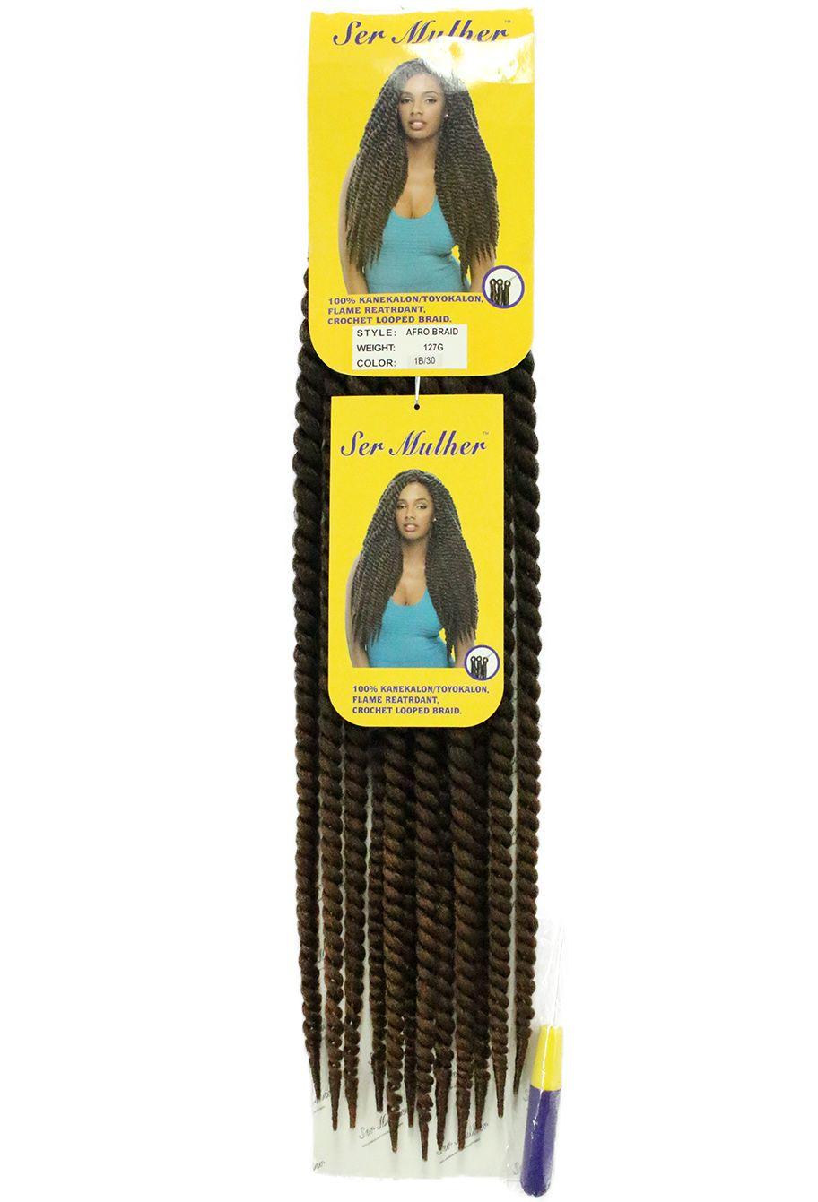 Cabelo Sintético - Ser Mulher - Twist Afro Braid
