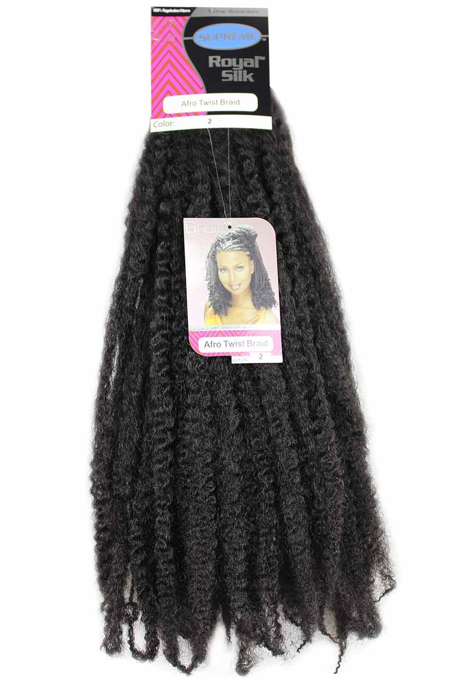 Cabelo Sintético - Suprême Royal Silk - Afro Twist Braid (Marley Hair)