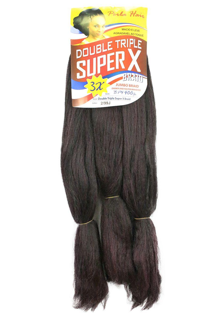 Cabelo Sintético - Zhang hair jumbo - Jumbão Super X (400g) - Cor 2/99J