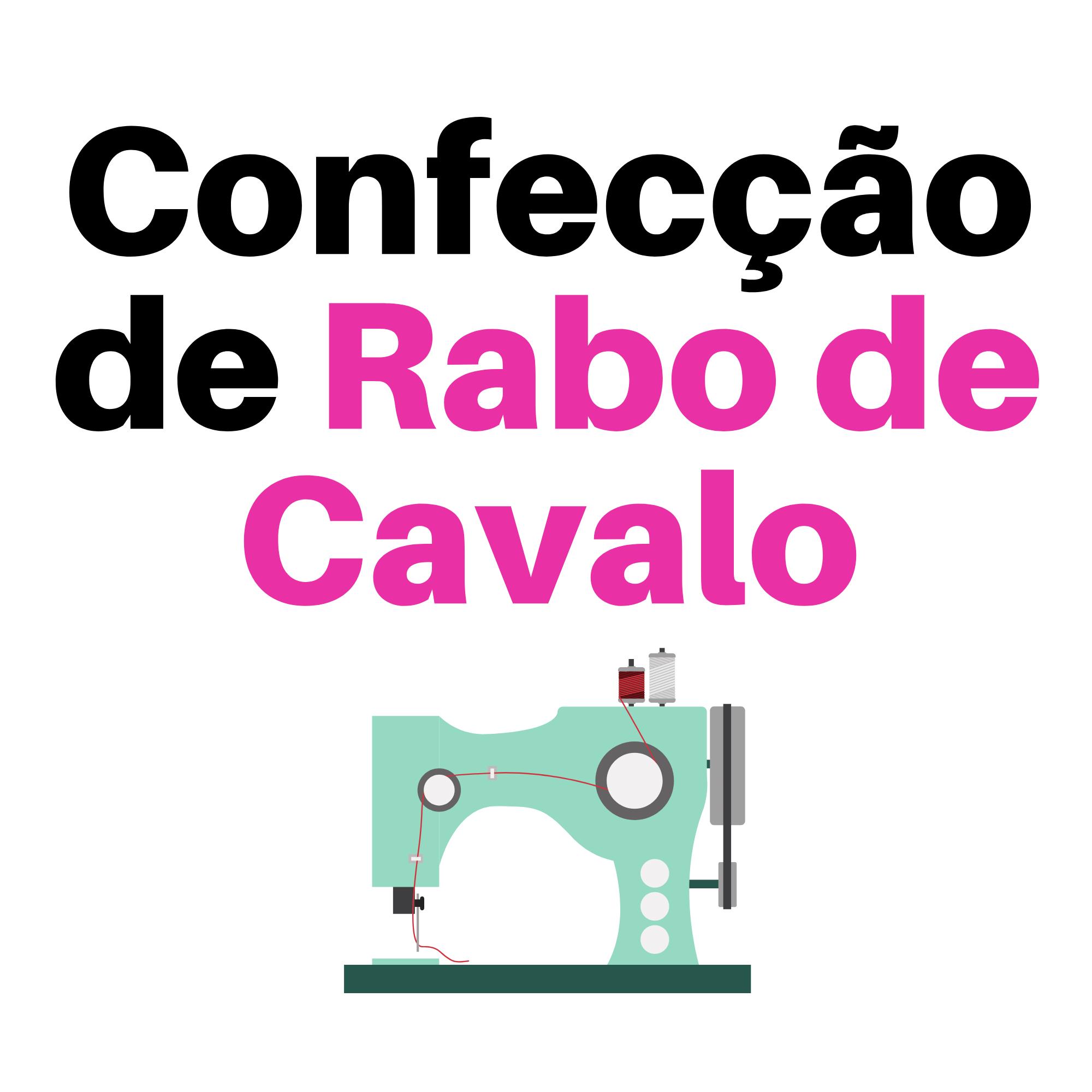 Confecção Rabo de Cavalo/Coque