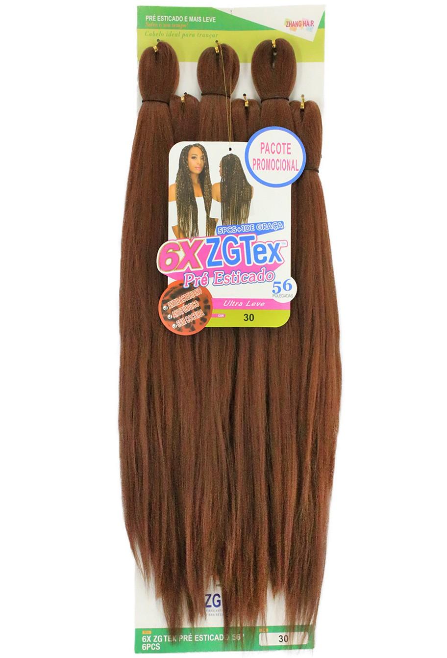 Jumbo - Zhang Hair - 6X ZGTex (400g) - Cor: 30