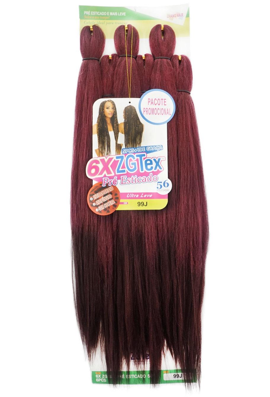 Jumbo - Zhang Hair - 6X ZGTex (400g) - Cor: 99J