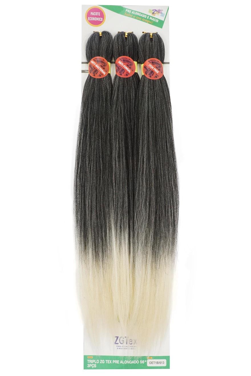 Jumbo - Zhang Hair - ZGTex (190g) - Cor: T1B/613
