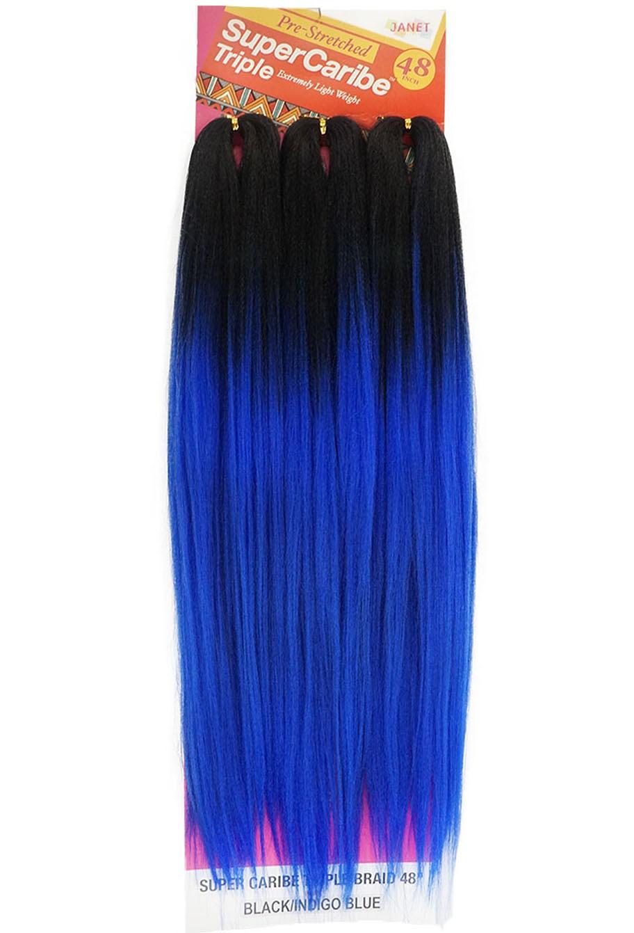 Jumbo Janet - Super Caribe Triple - Cor: Preto / Azul Escuro