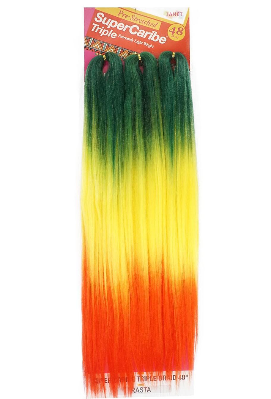 Jumbo Janet - Super Caribe Triple - Cor: Verde / Amarelo / Vermelho