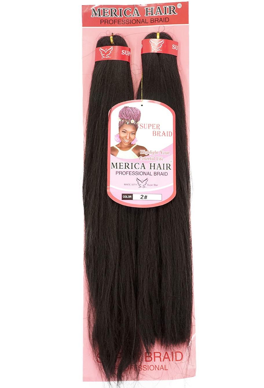 Jumbo - Merica Hair (146G) - Cor: Castanho Escuro (2)
