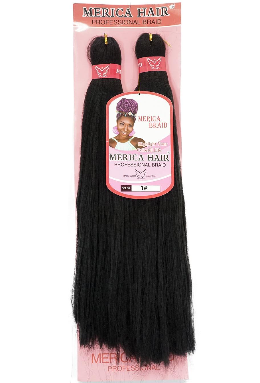 Jumbo - Merica Hair (146G) - Cor: Preto (1B)
