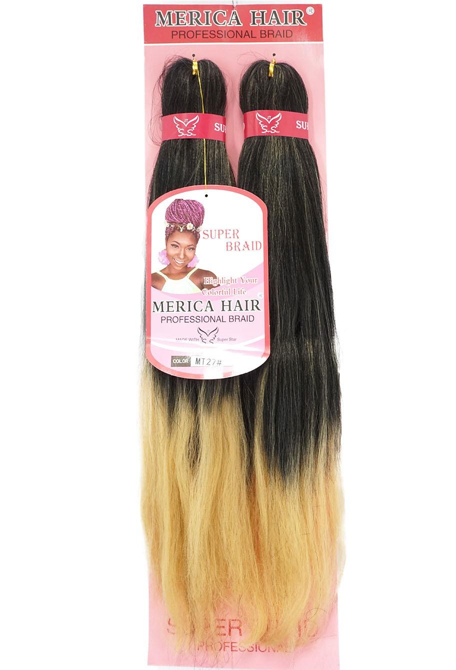 Jumbo - Merica Hair (146G) - Cor: Preto com Mel (MT27)