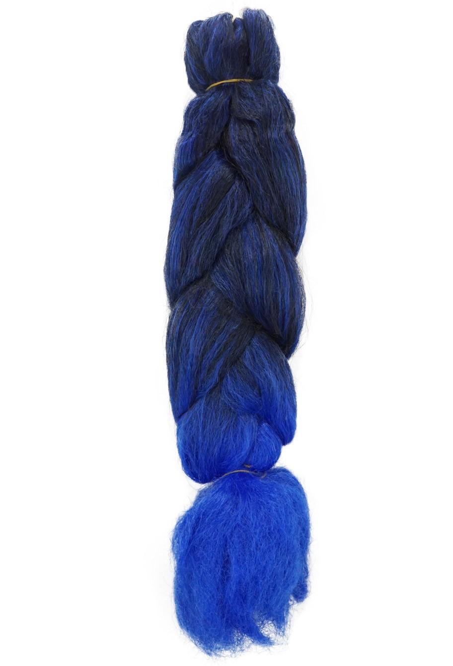 Jumbo - Pacotão Modern Girl (400g) - Cor: Castanho Escuro com Azul (T1B/AZUL)