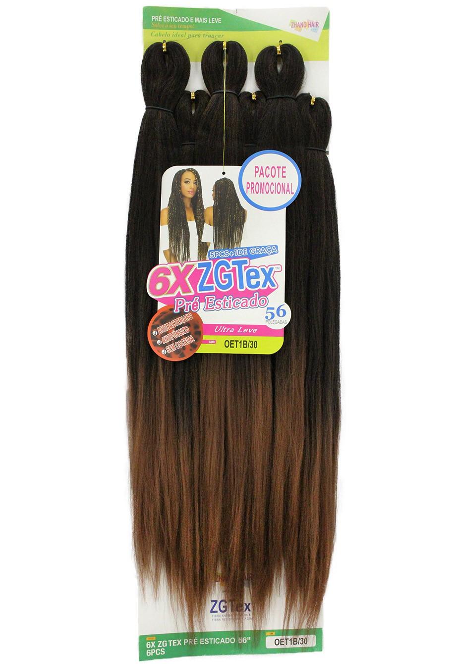 Jumbo - Zhang Hair - 6X ZGTex (400g) - Cor: OET1B/30