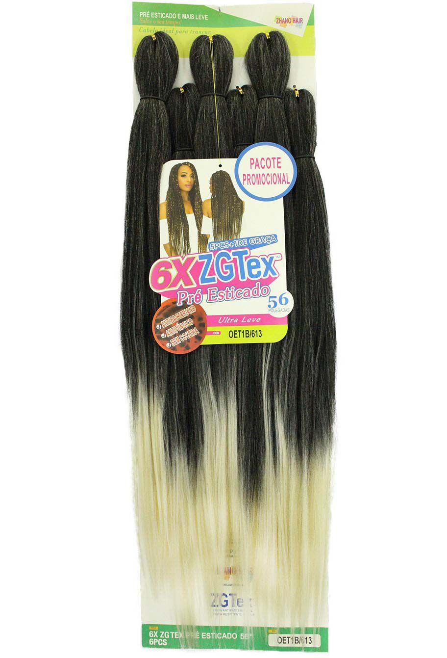Jumbo - Zhang Hair - 6X ZGTex (400g) - Cor: OET1B/613