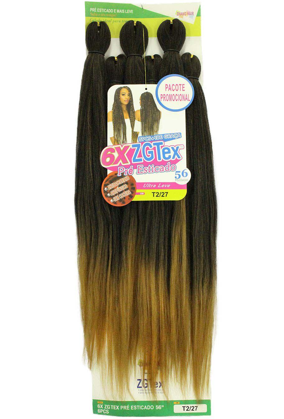 Jumbo - Zhang Hair - 6X ZGTex (400g) - Cor: OET1B/27