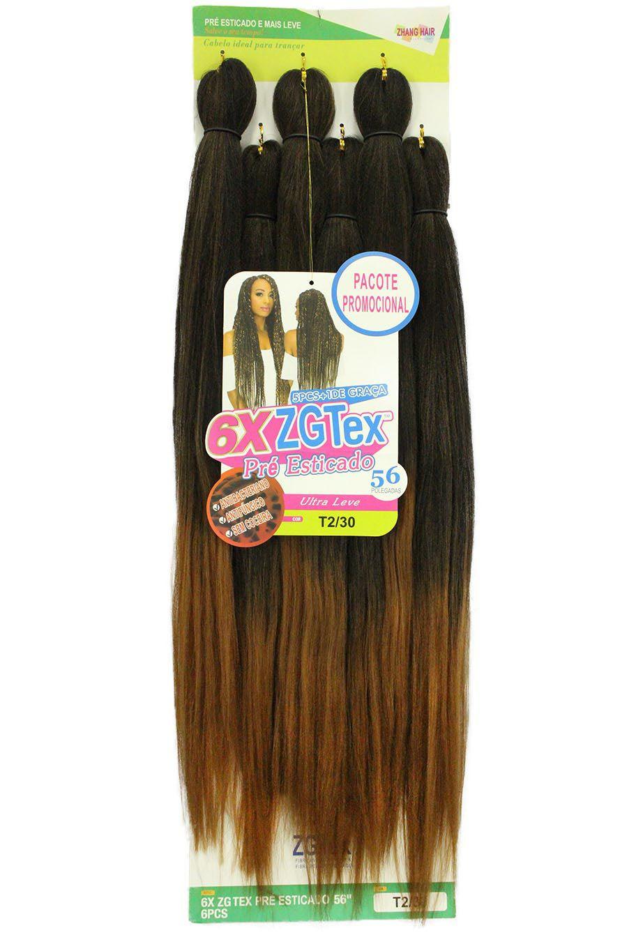 Jumbo - Zhang Hair - 6X ZGTex (400g) - Cor: T2/30