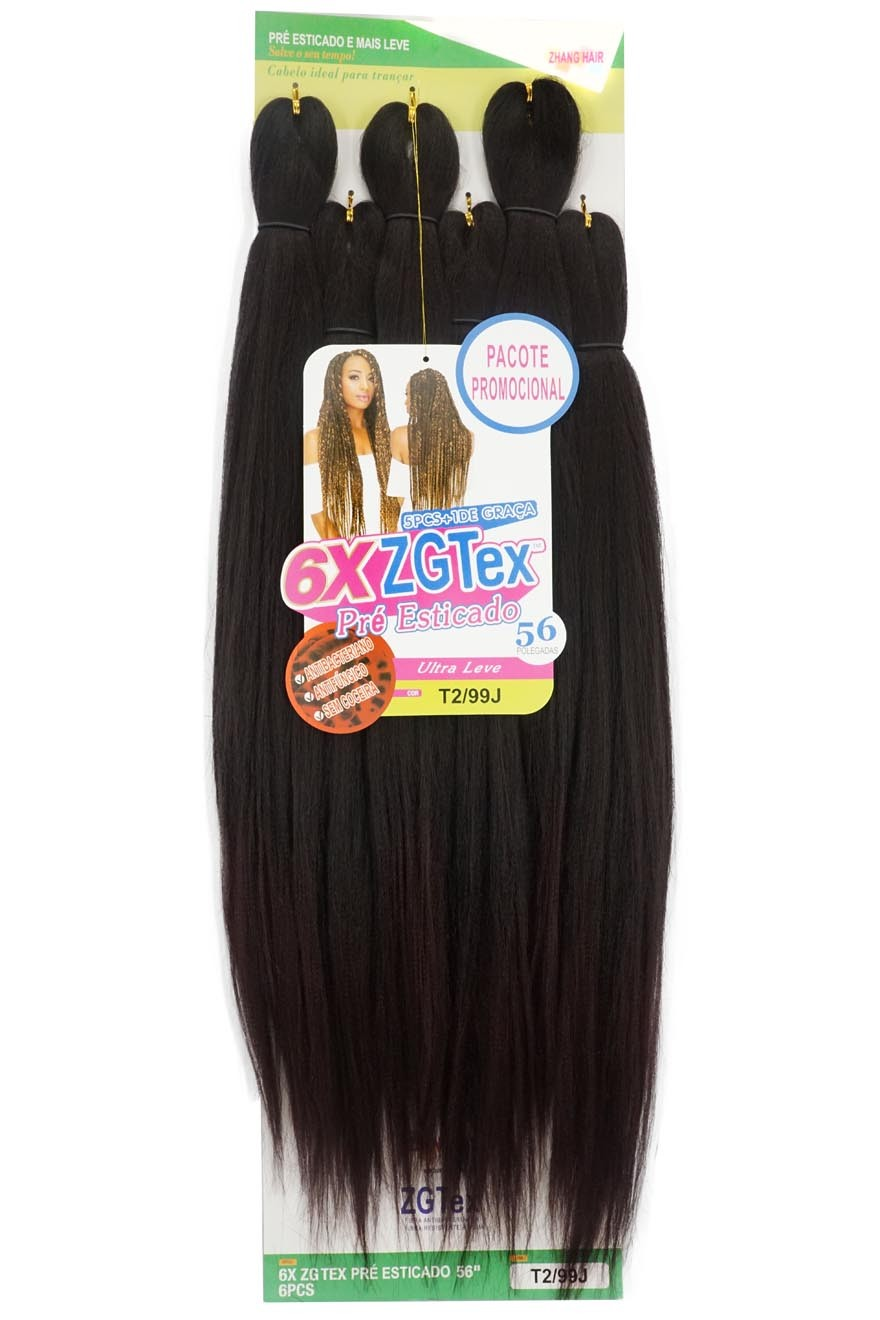 Jumbo - Zhang Hair - 6X ZGTex (400g) - Cor: T2/99J