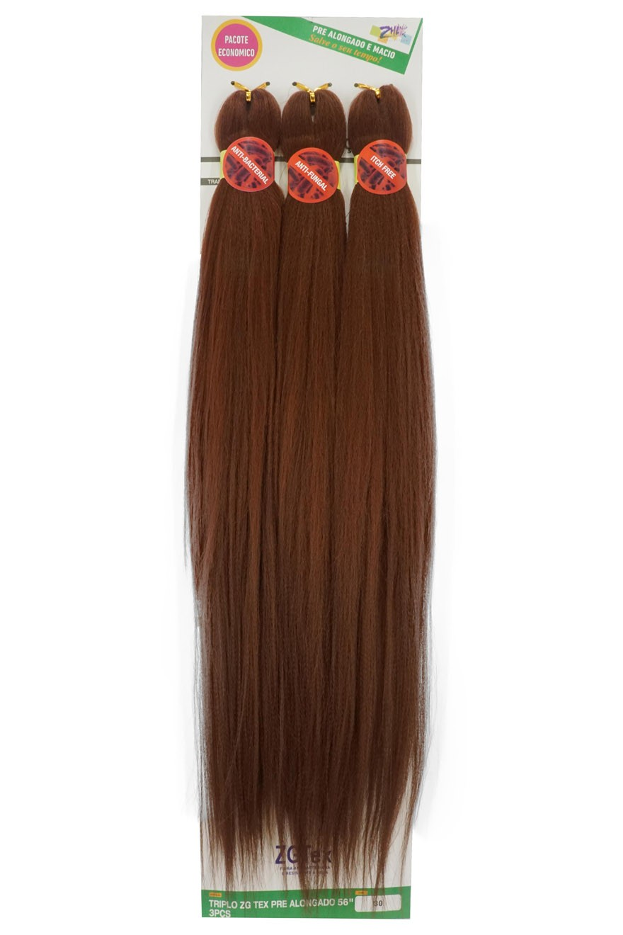 Jumbo - Zhang Hair - ZGTex (190g) - Cor: 30