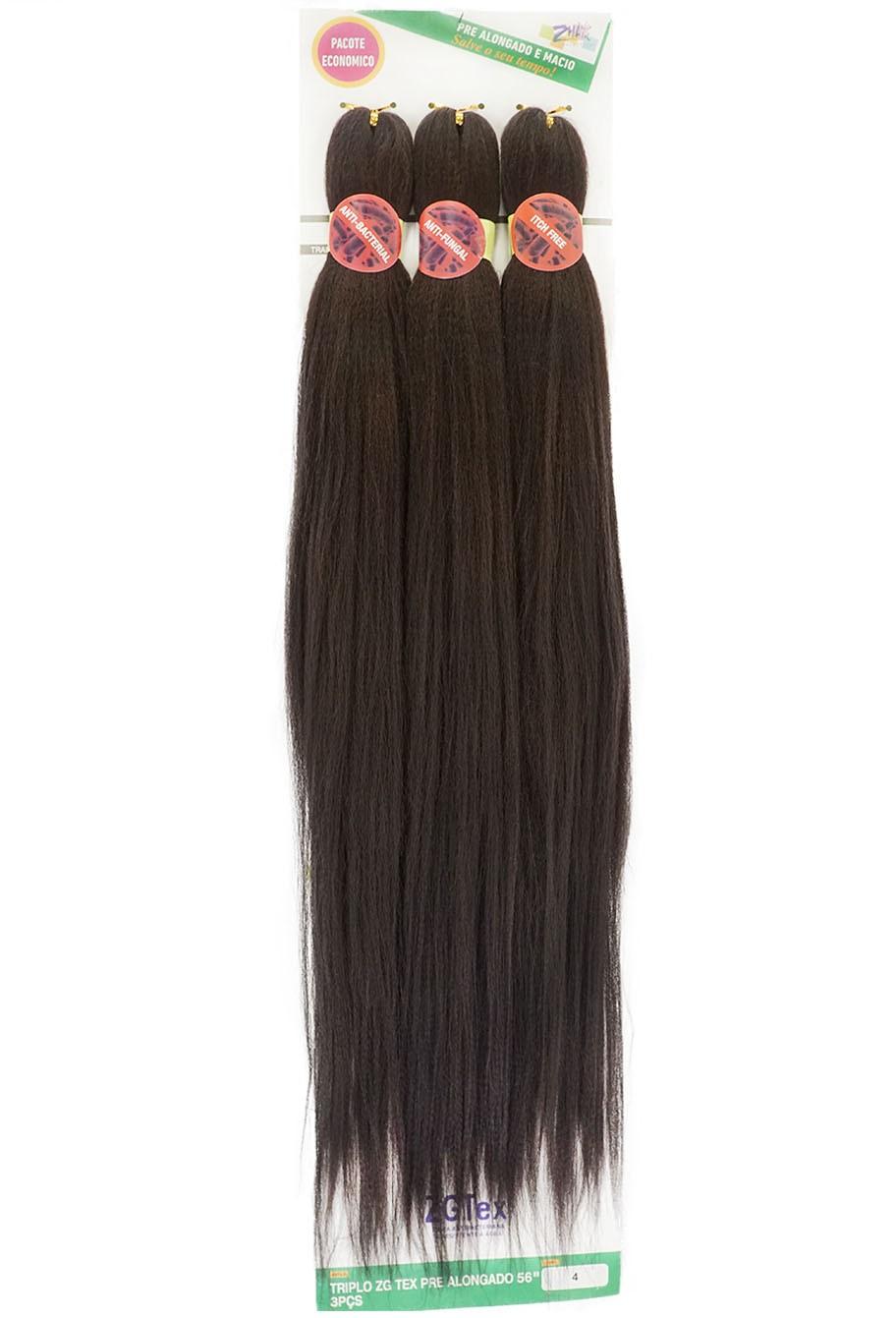 Jumbo - Zhang Hair - ZGTex (190g) - Cor: 4