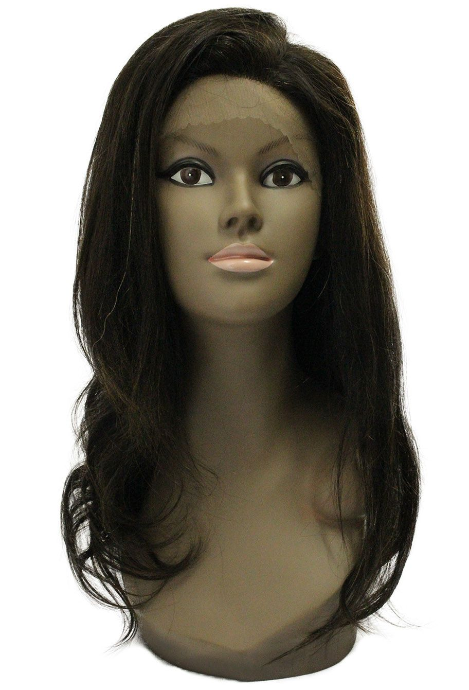 Peruca de Cabelo Humano - Front/Top Lace Modern Girl - Alisa