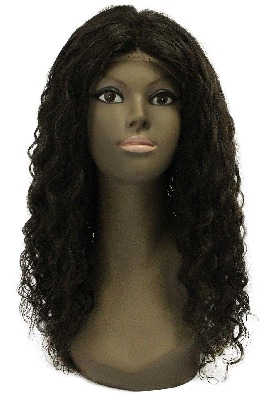 Peruca de Cabelo Humano - Front/Top Lace Modern Girl - Cristina