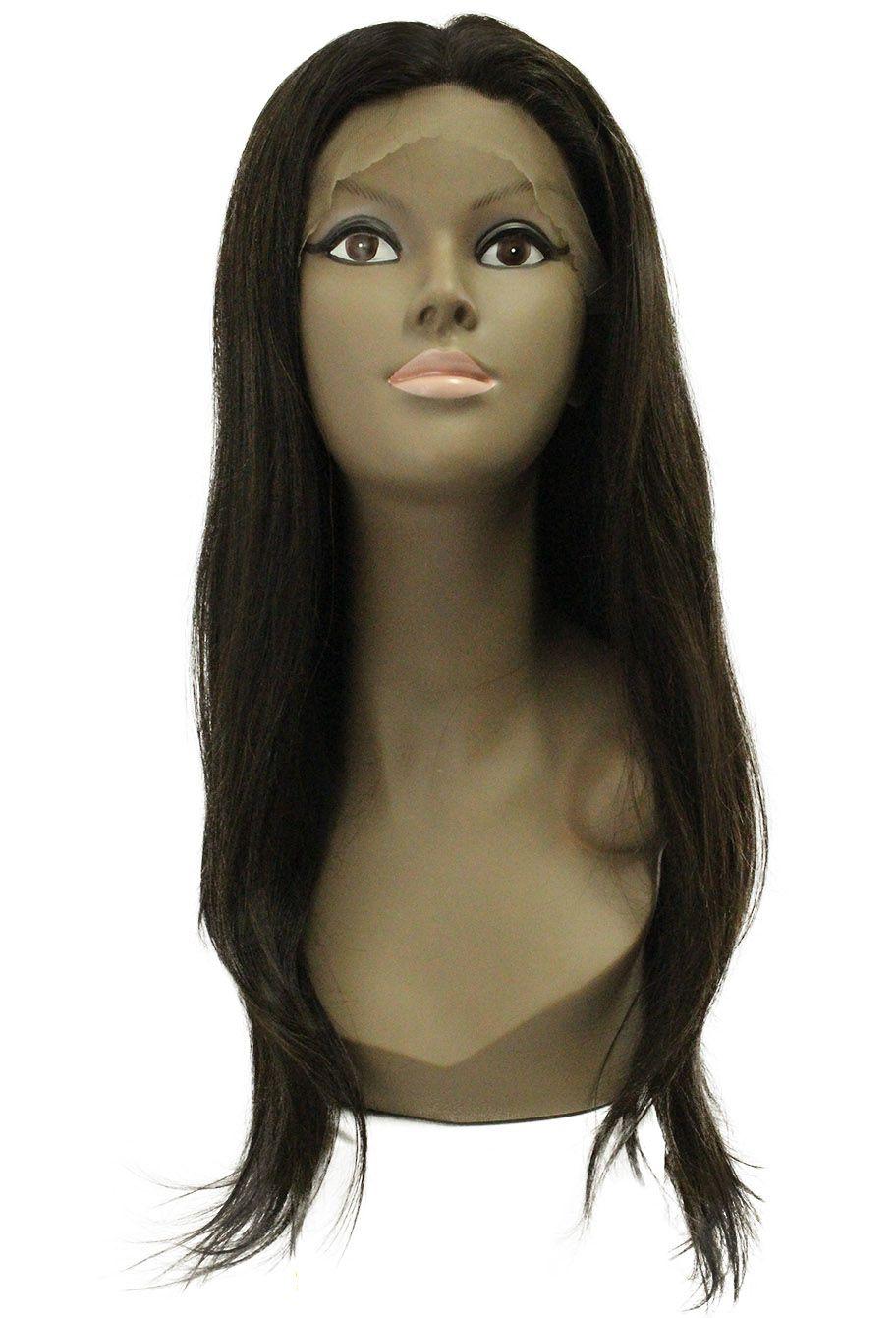 Peruca de Cabelo Humano - Front/Top Lace Modern Girl - Crystal