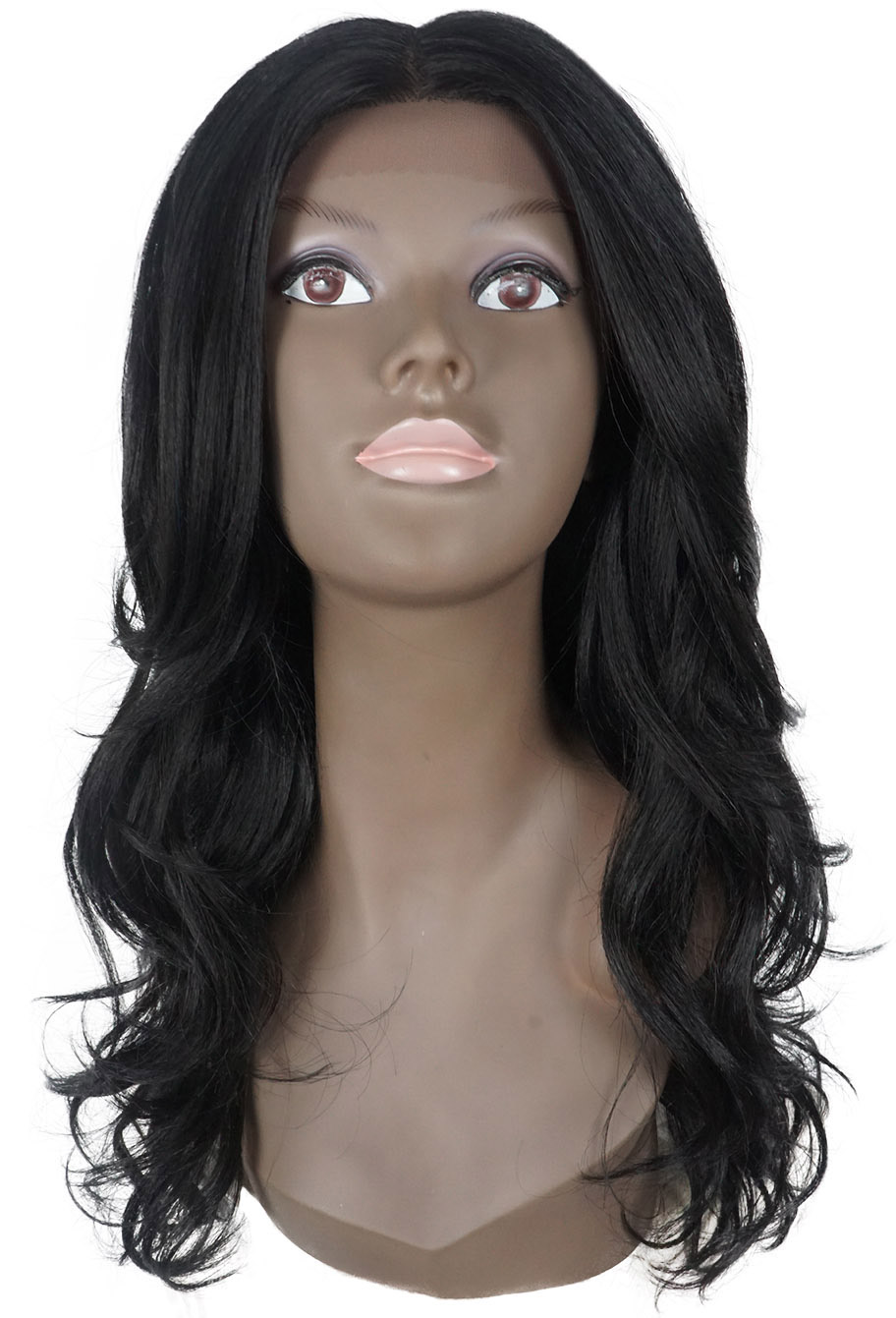 Peruca Orgânica - Front Lace Sleek Wig Fashion - Lunia