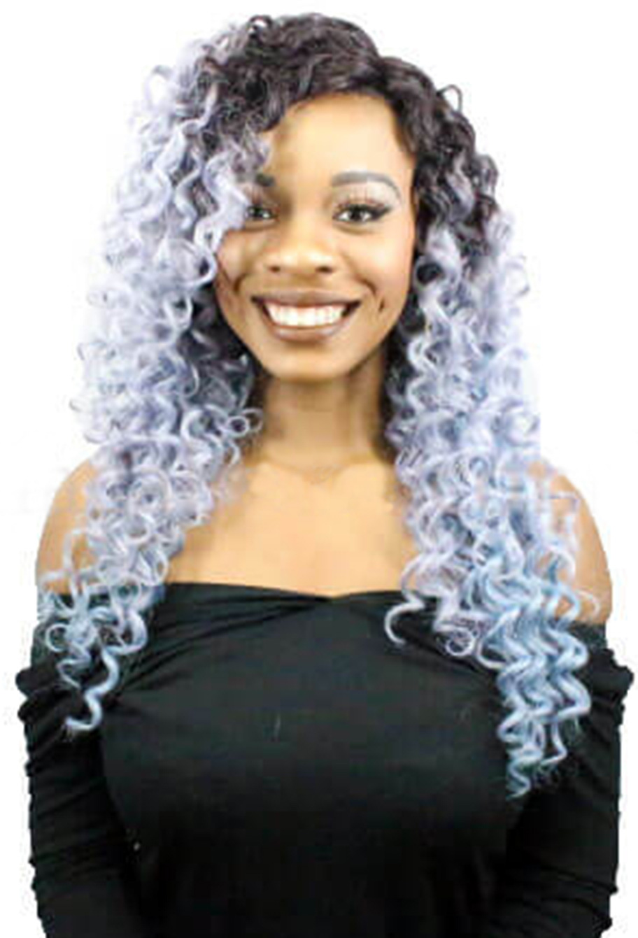 Peruca Orgânica - Front Lace Sleek Wig Fashion - Chocolate