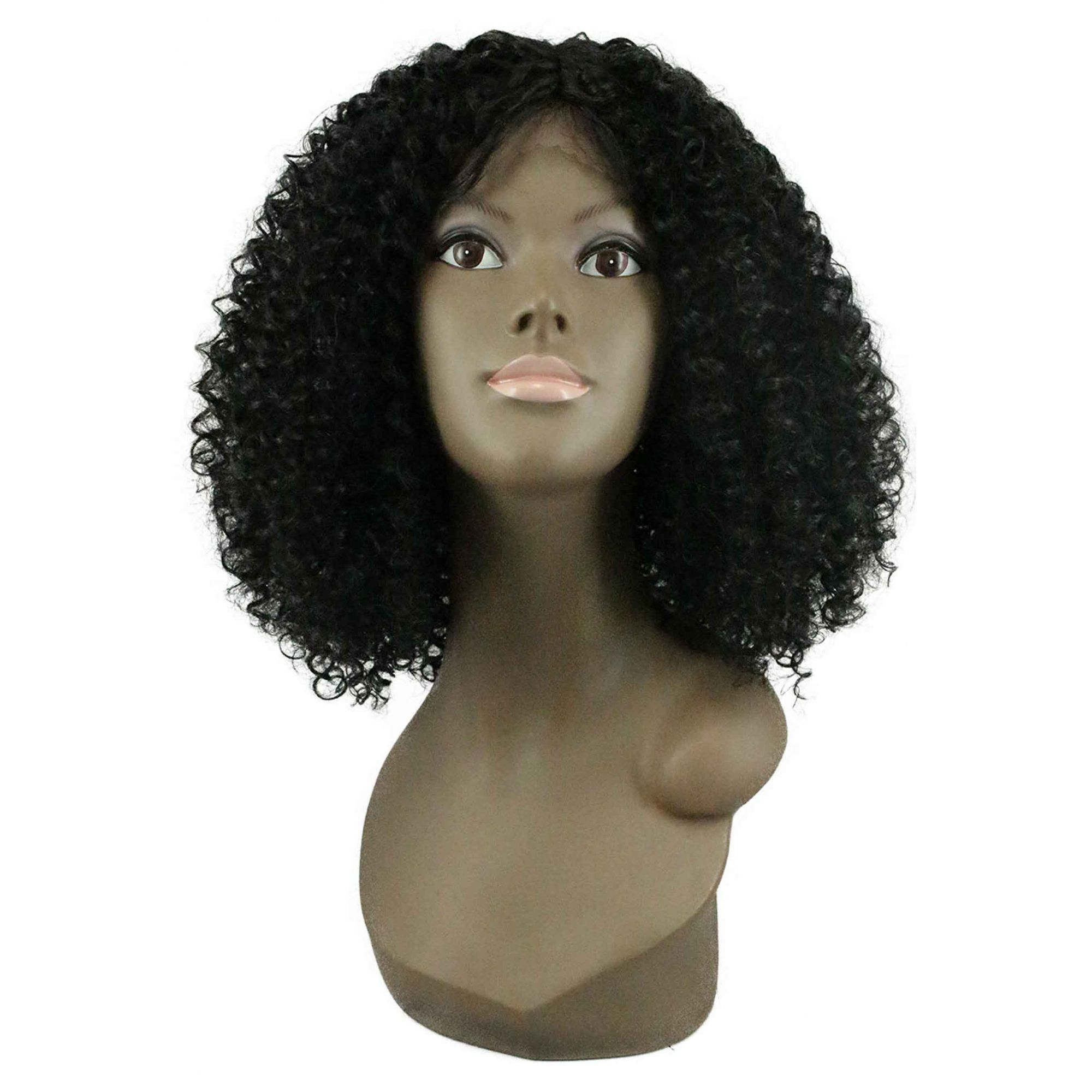 Peruca Orgânica - Front Lace Sleek Wig Fashion - Isa