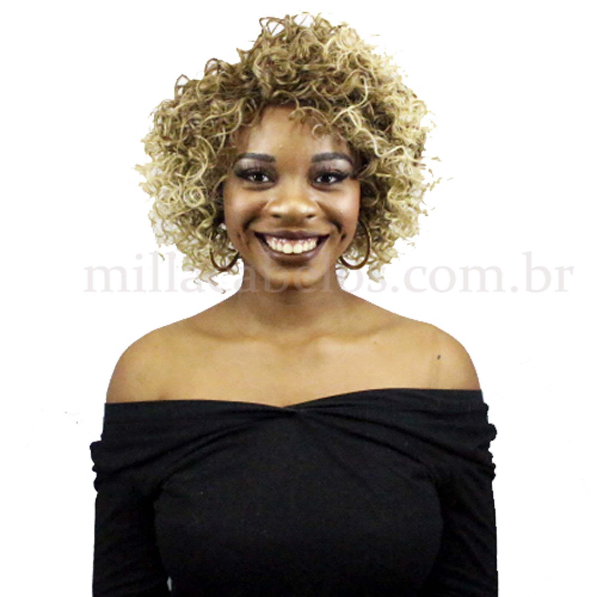 Peruca Orgânica - Front Lace Sleek Wig Fashion - Paixão