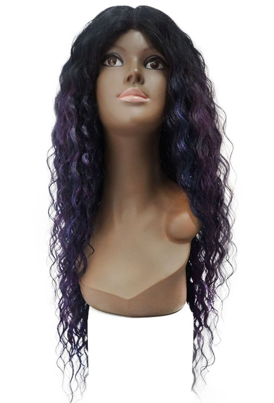 Peruca Orgânica - Front Lace Sleek Wig Fashion - Spring
