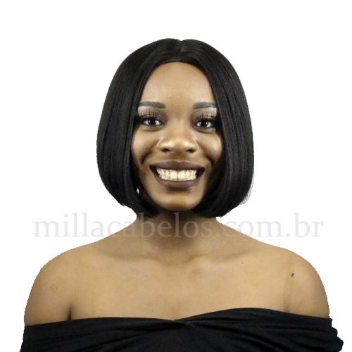 Peruca Orgânica - Front Lace Sleek Wig Fashion True Me - Mary