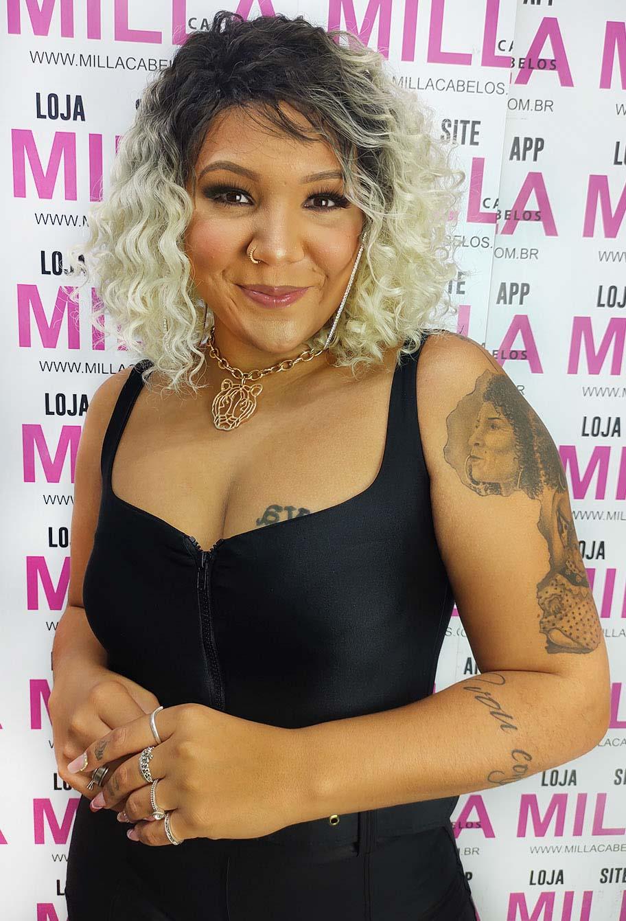 Peruca Orgânica - Front Lace Sleek Wig Fashion True Me - Rapunzel