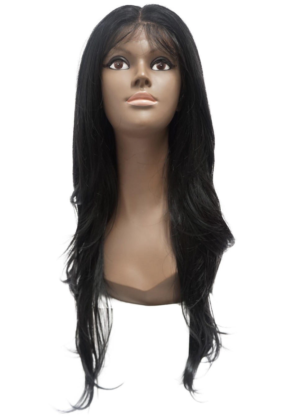 Peruca Orgânica - Front/Top Lace Sleek Wig Fashion - Gardênia