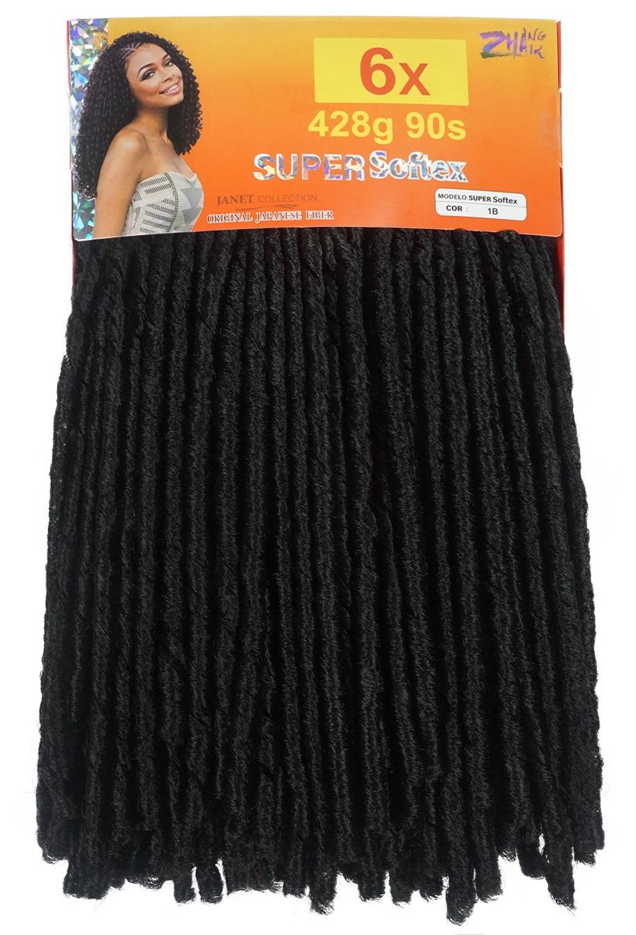 Super Softex - Zhang Hair -  Pacotão 6 Pacotes em 1