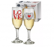 CJ TACA CHAMPAGNE LOVE 215 ML