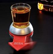 Jogo Gire & Beba copo shot com roleta