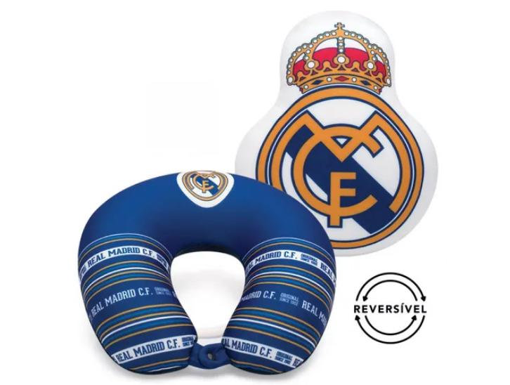 ALMOFADA REVERSIVEL BRASAO REAL MADRID
