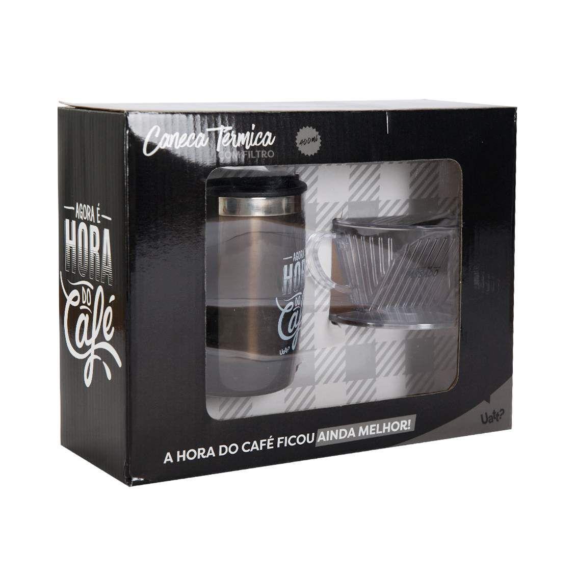 CANECA COM FILTRO - HORA DO CAFE