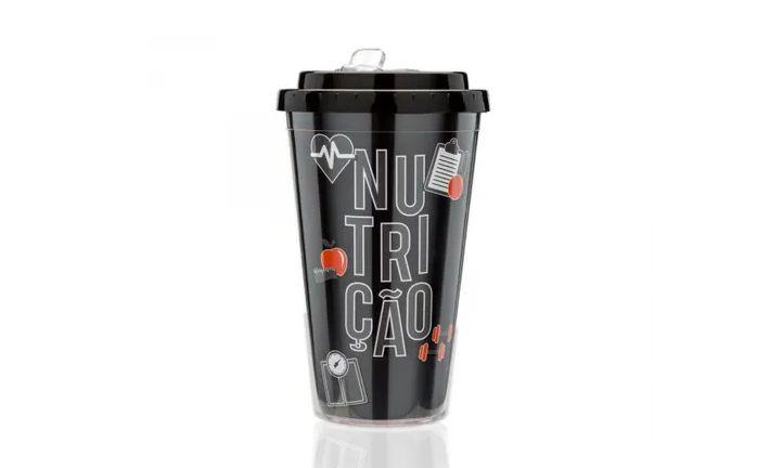 COPO COM CANUDO RETRATIL NUTRICAO