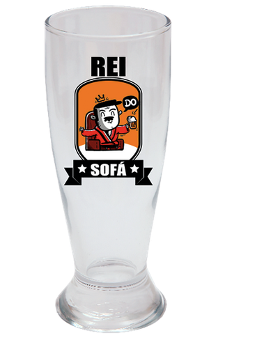 COPO DE CERVEJA 200ML + CX - REI DO SOFA