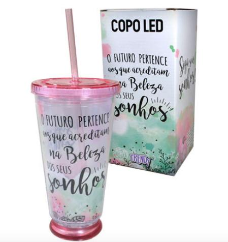 COPO LED O FUTURO PERTENCE AOS QUE 500 ML