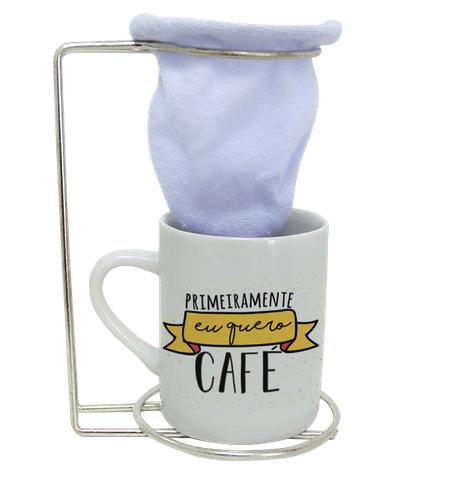 KIT DE CAFE - EU QUERO CAFE