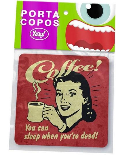 Porta Copos Coffee Addict