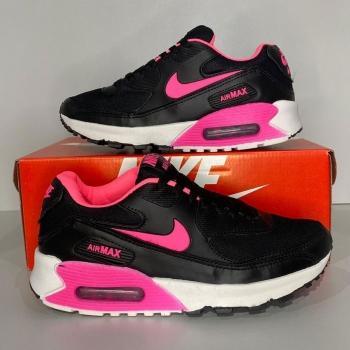 Nike air max 90 preto rosa
